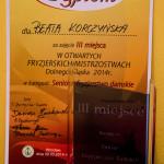 Otwarte fryzjerskie mistrzostwa Dolnego Ślaska - Wrocław 2014